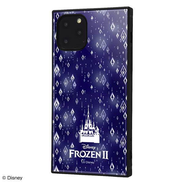 ingrem iPhone 11 Pro ディズニーキャラクター 耐衝撃ハイブリッドケース KAKU アナと雪の女王2 総柄 03