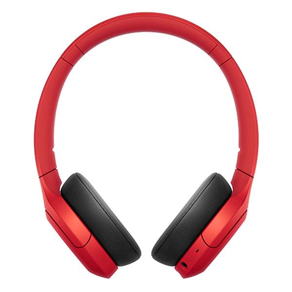 SONY WH-H810 ワイヤレスステレオヘッドセット Bluetooth 5.0 レッド