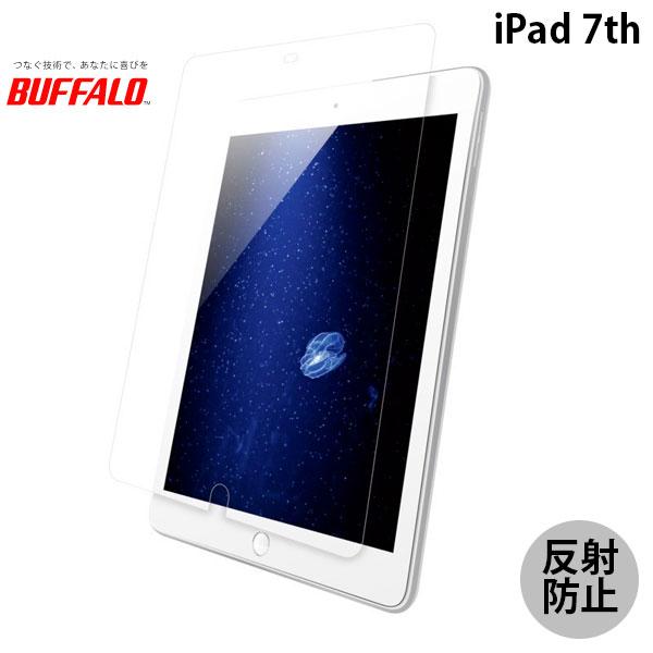 BUFFALO iPad 7th ブルーライトカットフィルム スムースタッチ