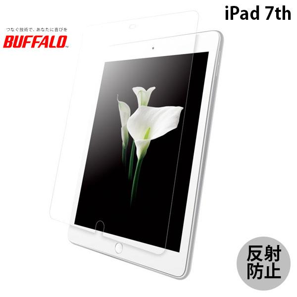 BUFFALO iPad 7th 防指紋フィルム スムースタッチ