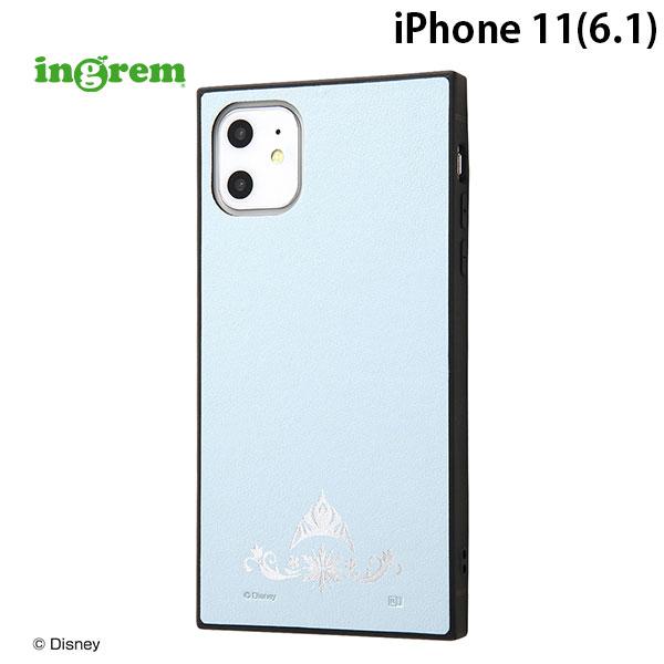 ingrem iPhone 11 ディズニーキャラクター 耐衝撃オープンレザーケース KAKU アナと雪の女王 / ティアラ