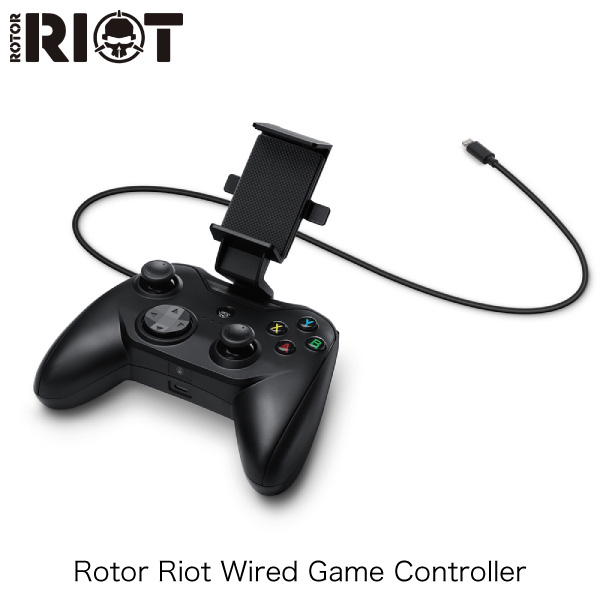 Rotor RIOT Wired Game Controller RR1850 iOS用 有線 ゲームコントローラー ブラック