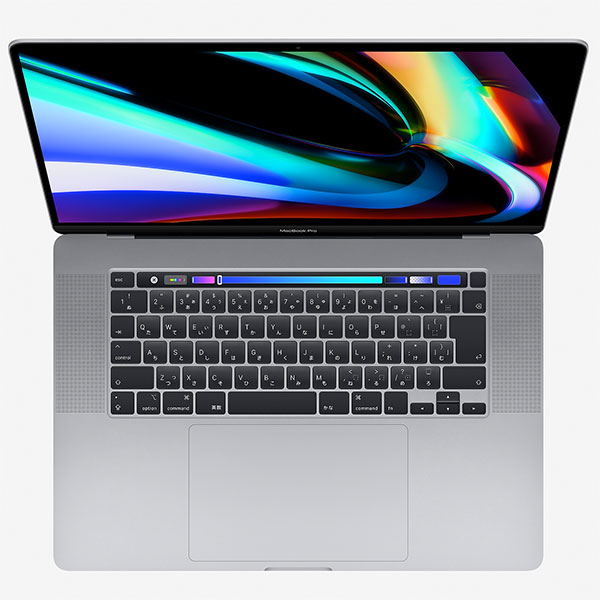 Apple MacBook Pro 16inch Touch Bar (Better) スペースグレイ 2.6GHz 6コア i7 / 16GB / RP5300M / 512GB