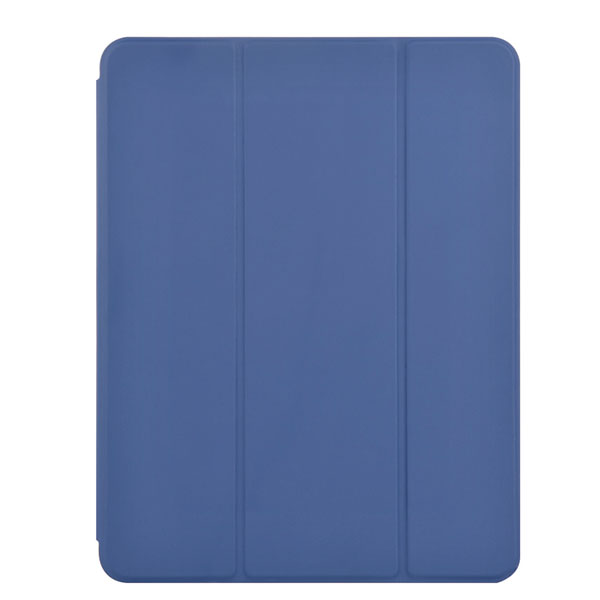 Devia iPad 7th Leather Case with Pencil Slot blue