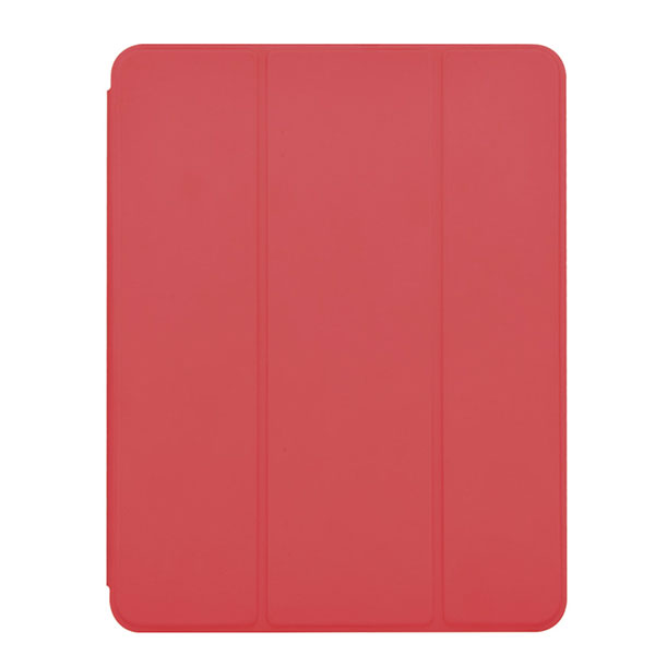 Devia iPad 7th Leather Case with Pencil Slot red