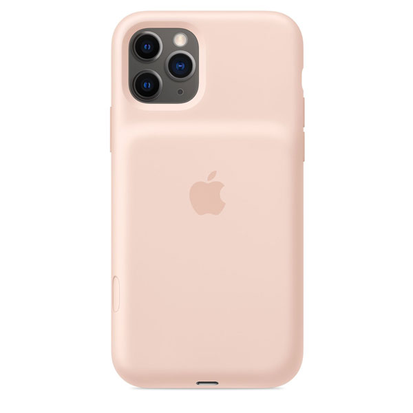 【NEW】 Apple iPhone 11 Pro Smart Battery Case with Wireless Charging - ピンクサンド