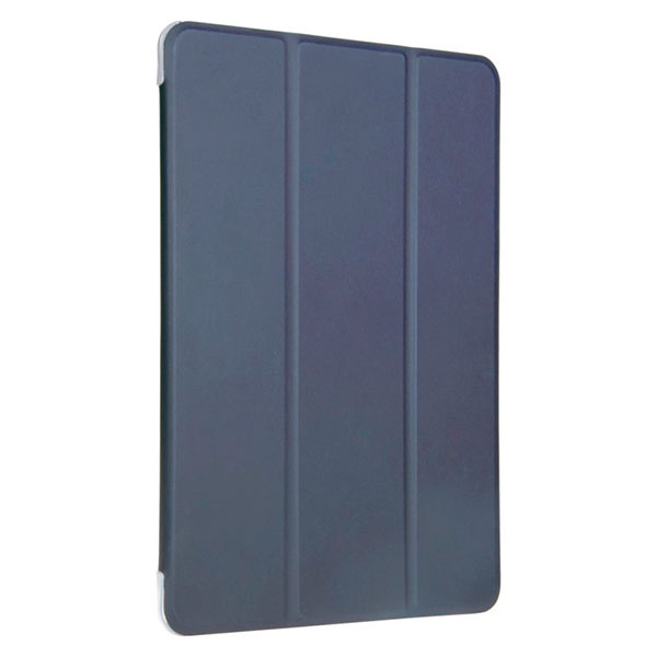 BUFFALO iPad 7th ハイブリッドレザーケース ブルー