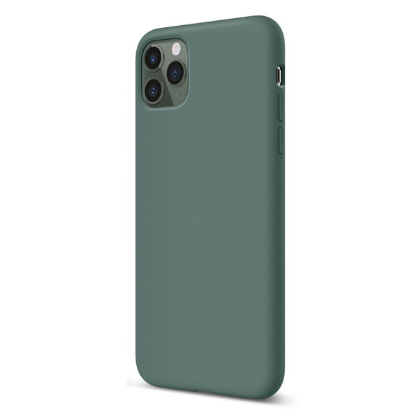 elago iPhone 11 Pro SILICONE CASE 2019 ミッドナイトグリーン