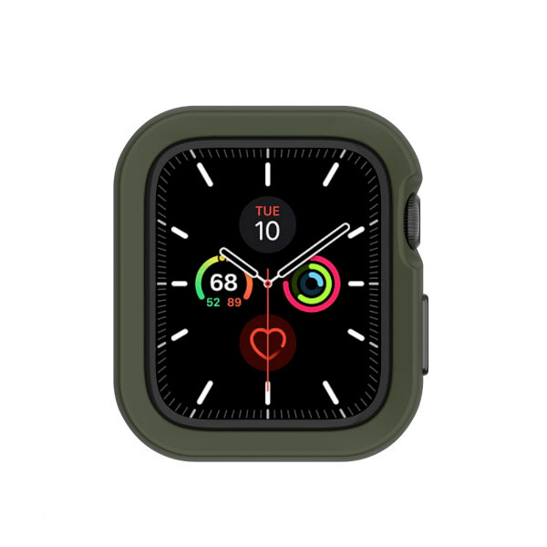 SwitchEasy Apple Watch Series 4 / 5 40mm Apple Watch Colors TPU ケース Army green