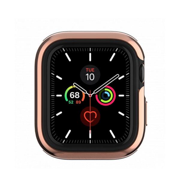 SwitchEasy Apple Watch Series 4 / 5 40mm Apple Watch Odyssey アルミ TPU ケース Flash Rose Gold