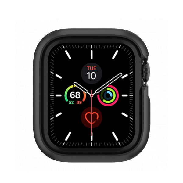 SwitchEasy Apple Watch 40mm Series 4 / 5 / 6 / SE Odyssey アルミ TPU ケース Space Black