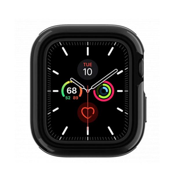 SwitchEasy Apple Watch Series 4 / 5 44mm Apple Watch Odyssey アルミ TPU ケース Flash Gray
