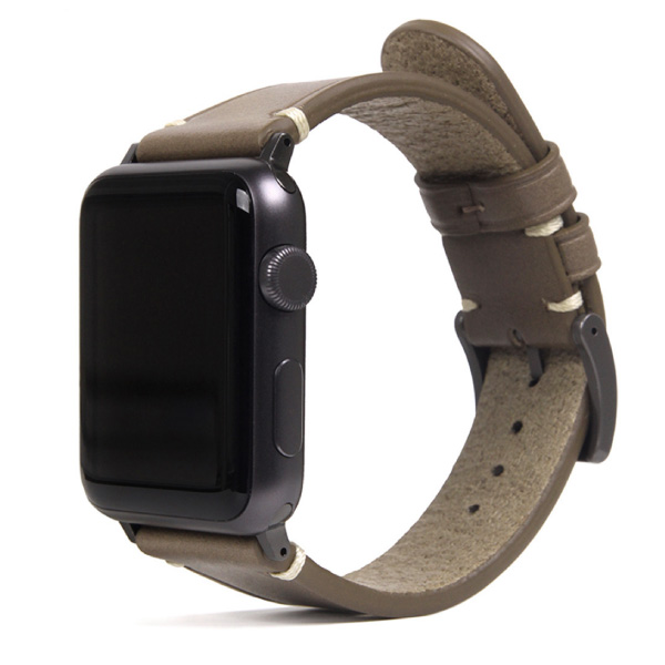 SLG Design Apple Watch 38mm / 40mm Italian Buttero Leather Strap ベージュ