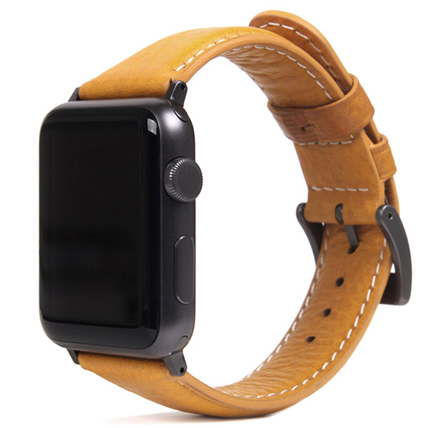 SLG Design Apple Watch 38mm / 40mm Italian Minerva Box Leather タン