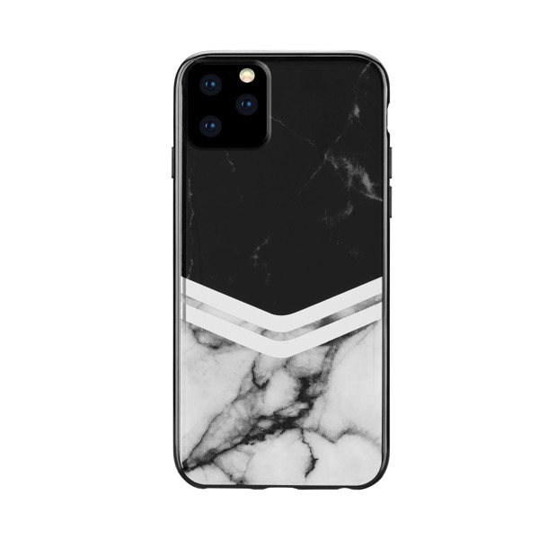 HABITU iPhone 11 Pro BLACK MARBLE LARA CHEVRON