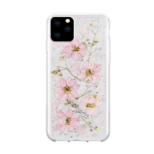 HABITU iPhone 11 Pro EVERLAST REAL FLOWERS ROSIE PUNCH