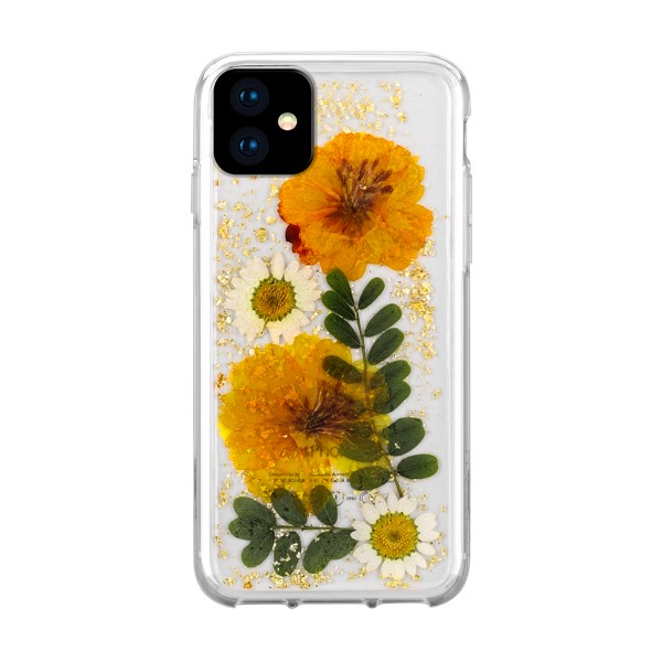 HABITU iPhone 11 Pro EVERLAST REAL FLOWERS SUNKISS