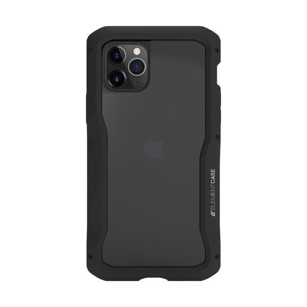 Element Case iPhone 11 Pro Vapor-S 耐衝撃 アルミバンパーケース 背面保護ガラス 付属 グラファイト