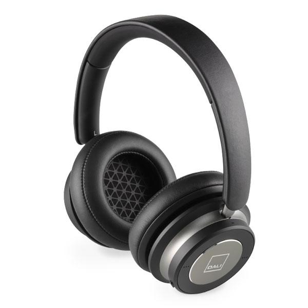 DALI IO6 ノイズキャンセリング Bluetooth 5.0 ワイヤレス オーバーイヤー ヘッドホン アイアンブラック