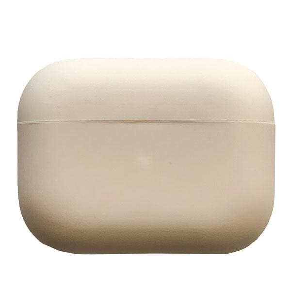 Simplism AirPods Pro 衝撃吸収 極薄軽量 シリコンケース デザートサンド