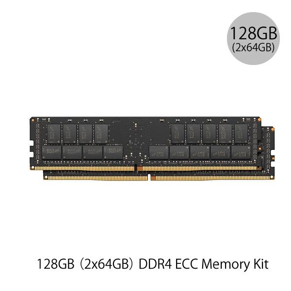 Apple 128GB (2x64GB) DDR4 ECC 2,933MHz LR-DIMM Memory Kit (ヤマト便)