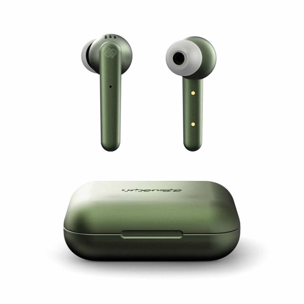 Urbanista PARIS True Wireless Bluetooth 5.0 完全ワイヤレスイヤホン IPX5 防水 Olive Green