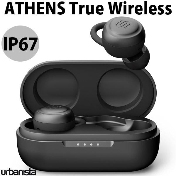 Urbanista ATHENS True Wireless Bluetooth 5.0 完全ワイヤレスイヤホン IP67 防水 防塵 ブラック