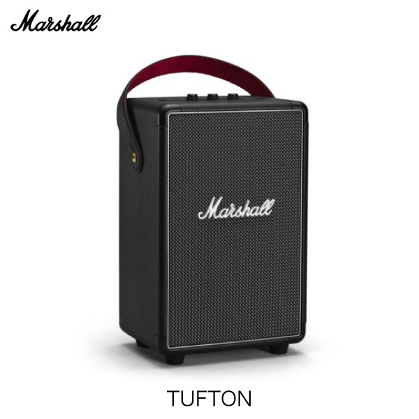 【国内正規品】 Marshall Headphones TUFTON Bluetooth 5.0 IPX2 防滴 ポータブルスピーカー BLACK