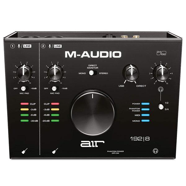M-AUDIO AIR 192 | 8 2in/4out USBオーディオインターフェイス