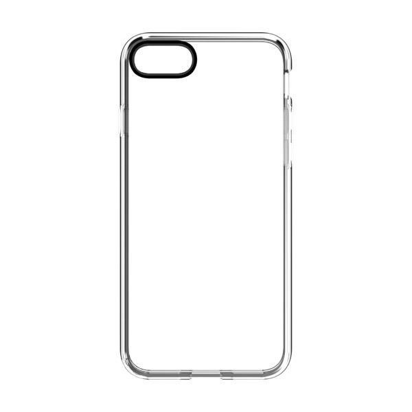 Simplism iPhone SE 第2世代 / 8 / 7 [GLASSICA] 背面ガラスケース レンズリング ブラック