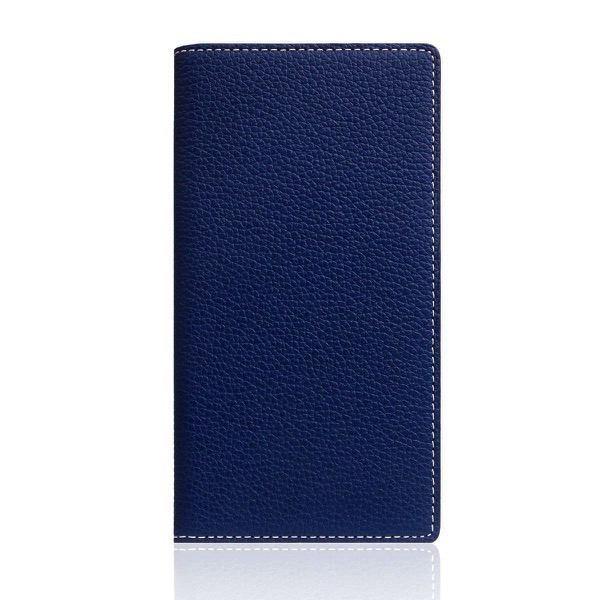 SLG Design iPhone SE 第2世代 / 8 / 7 Full Grain Leather Case Navy Blue
