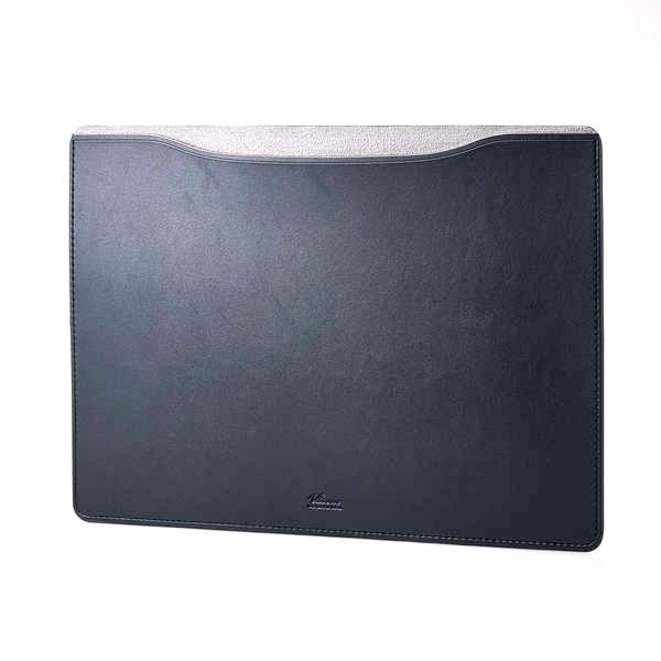 エレコム MacBook Pro 16インチ レザースリーブケース ブラック
