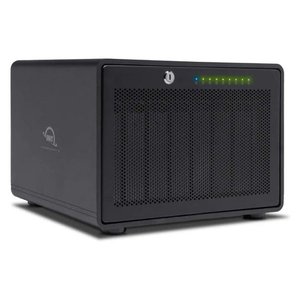 OWC 0TB (ケースのみ) ThunderBay 8 SoftRAID Lite XT  (RAID 0・1対応) 付属 Thunderbolt 3 Storage Enclosure