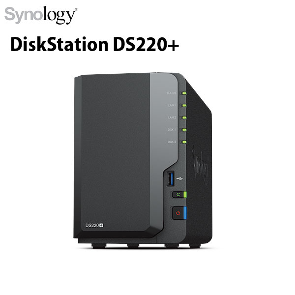 Synology DiskStation Plusシリーズ DS220+ 2ベイ
