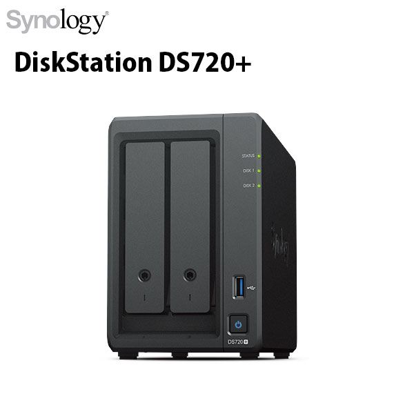 Synology DiskStation Plusシリーズ DS720+ 2ベイ