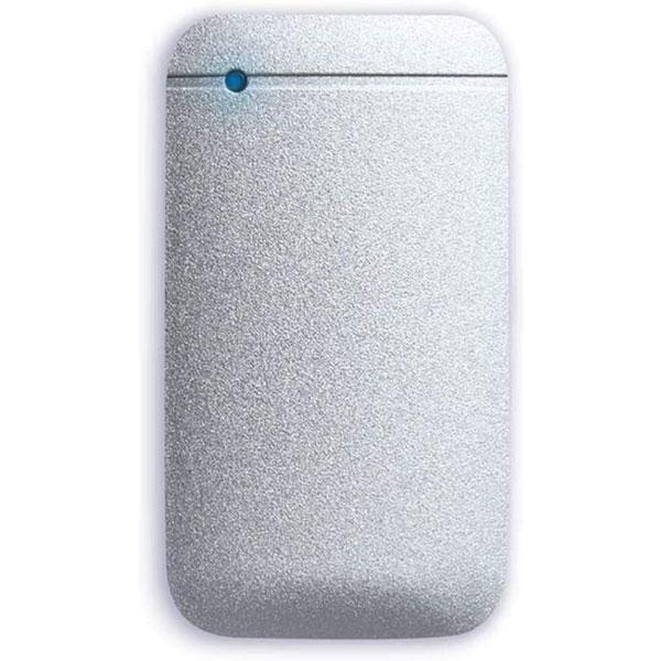 エレコム 500GB USB Type-Cケーブル付き外付けポータブルSSD シルバー
