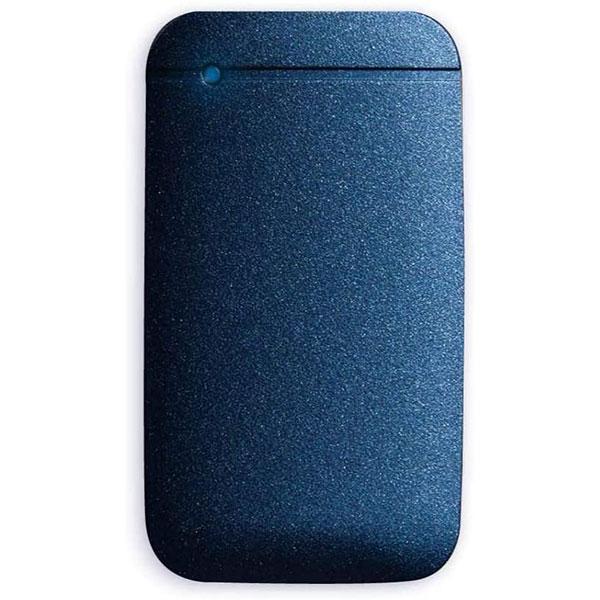 エレコム 1TB USB Type-Cケーブル付き外付けポータブルSSD ネイビー