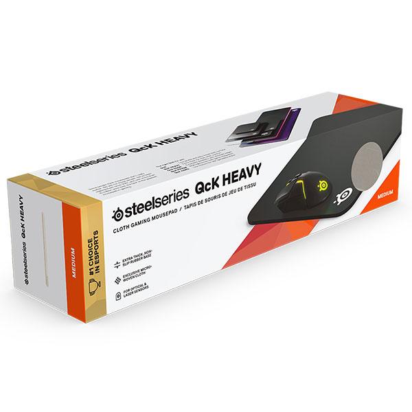 SteelSeries QcK Heavy Medium ゲーミング マウスパッド 320 x 270
