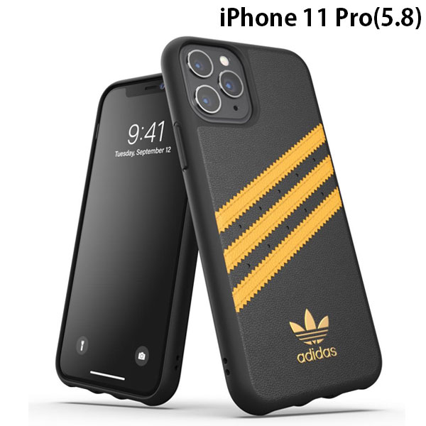 adidas iPhone 11 Pro OR Moulded Case SAMBA SS20 Black/Gold