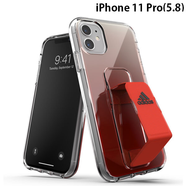 adidas iPhone 11 Pro SP Clear Grip Case SS20 Solar Red