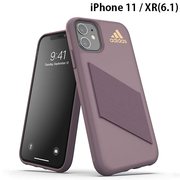 adidas iPhone 11 / XR SP Protective Pocket Case SS20 Legacy Purple / Metallic Rose