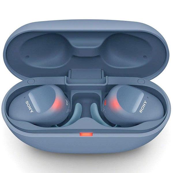 SONY WF-SP800N 完全ワイヤレス ノイズキャンセリングステレオヘッドセット Bluetooth 5.0 ブルー