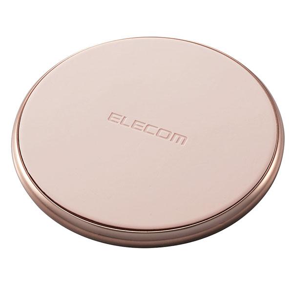エレコム Qi規格対応ワイヤレス充電器 (10W/5W・卓上タイプ) USB Type-C/PD入力 ゴールド