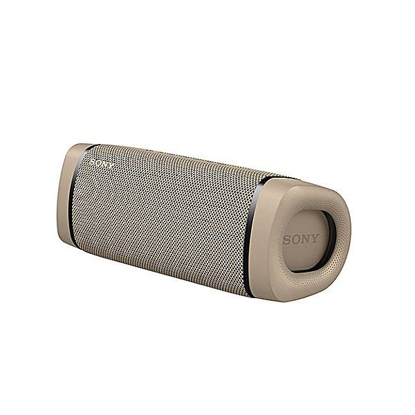 SONY SRS-XB33 Bluetooth 5.0 ワイヤレス 防水・防塵・防錆 ポータブルスピーカー ライティング機能搭載 ベージュ