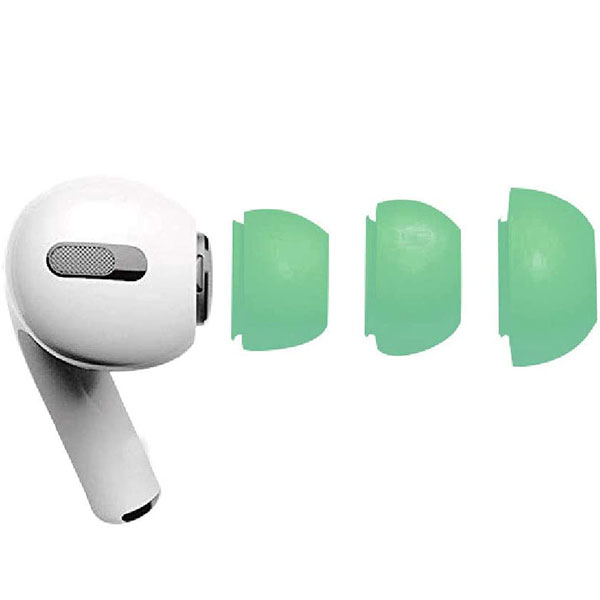 gourmandise AirPods Pro イヤーキャップ ライムグリーン