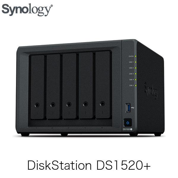 Synology DiskStation Plusシリーズ DS1520+ 5ベイ