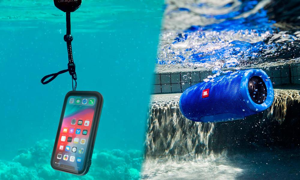 防水ケース、防水スピーカー