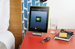 充電できるドックスタンド、iPadをより楽しめる