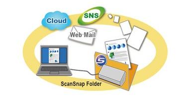 「ScanSnap Folder」機能による快適な操作