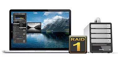 RAID1(ミラーリング)による安全なデータ保護
